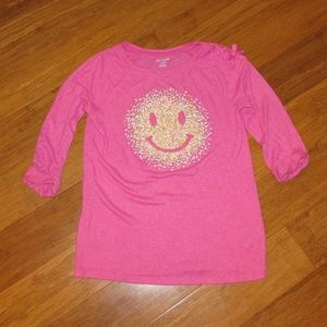 Cat & Jack Smiley Face Shirt